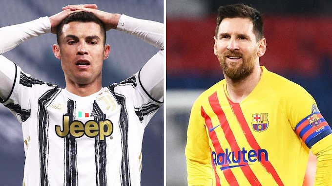 Lionel Messi and Cristiano Ronaldo miss out on the quarterfinals of the Champions league for first time in 16 years