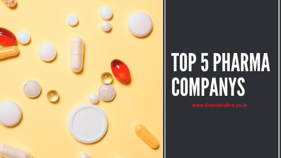 Top 5 Pharma Companies in India