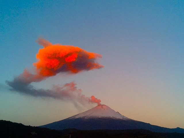 Popocatépetl Volcano Eruption