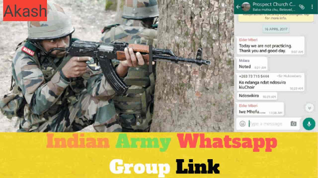 INDIAN ARMY JOB WHATSAPP GROUP LINKS-2019
