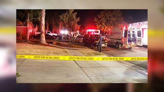 4 Shot dead after the attack at the Fresno Backyard Football Party