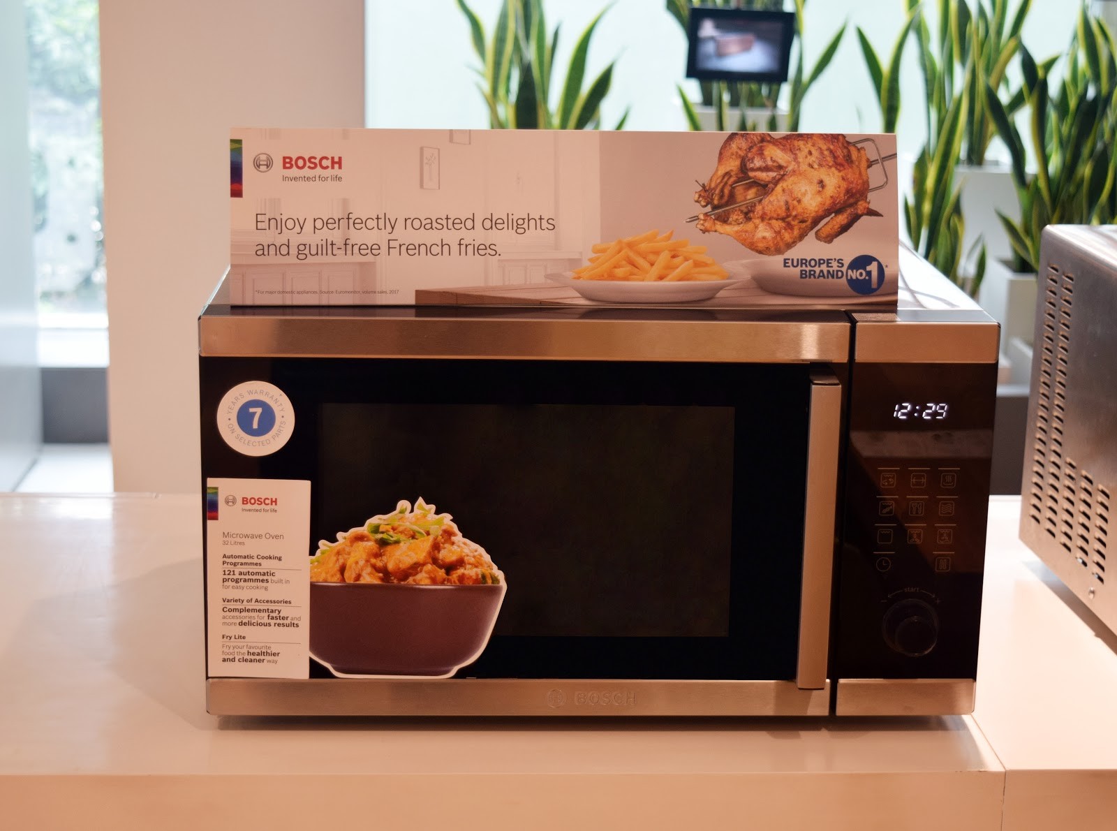 foodie punters bosch microwave mod cons
