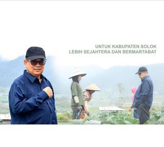 Panen Perdana Bawang Putih di Koto Laweh, Iriadi Dt Tumanggung Bantu APD untuk Petani