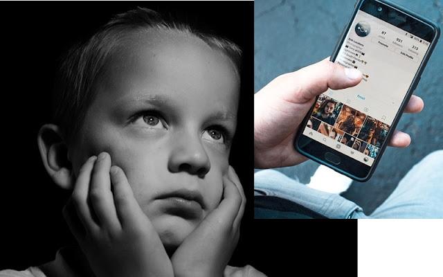 criança queria ser Smartphone