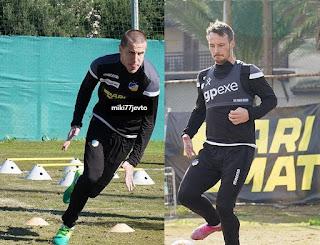 Ο Mike Jensen παίρνει το 31 και ο Milan Jevtović το 77