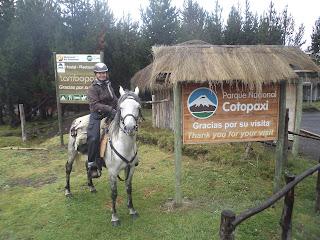 Ecuador, tulivuori, Cotopaxi, Ritta reissaa, ratsastusmatka