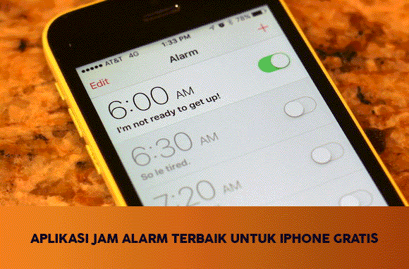 √ Aplikasi Jam Alarm Terbaik iPhone