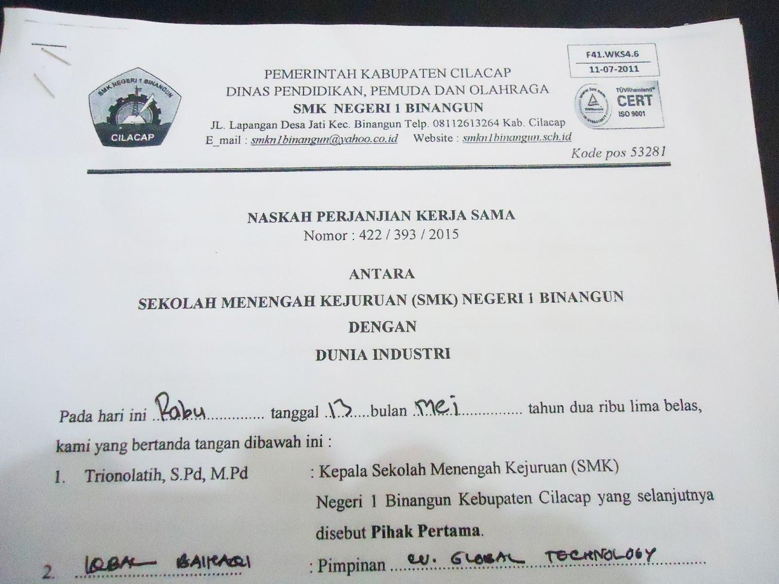 Yoursolution Contoh Surat Permohonan Prakerin