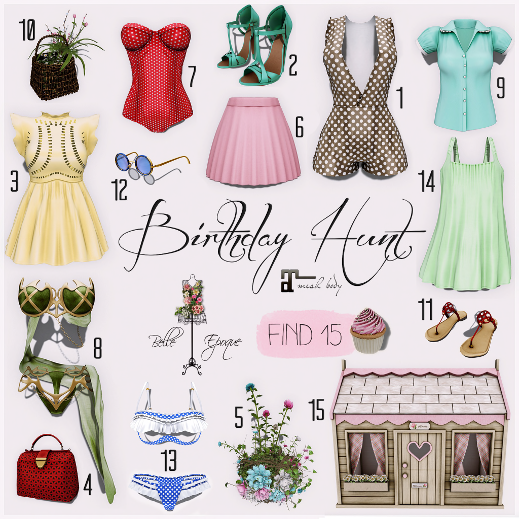 Belle Epoque Birthday Hunt!!!