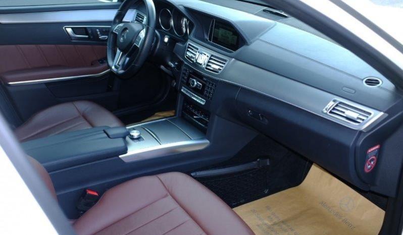 Nội thất xe Mercedes Benz E400 AMG cũ 2013 màu đen 02
