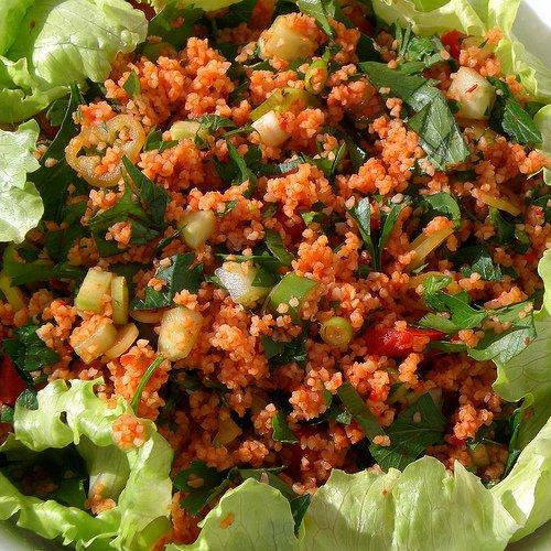 How to make Turkish bulgur salad