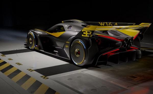 Bugatti Bollide Yellow