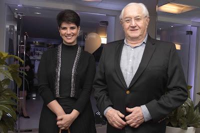 Mariana Godoy e Boris Casoy - Crédito/Foto: Divulgação/RedeTV!