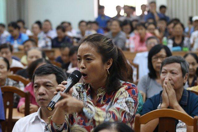Cử tri Nguyễn Thị Hà đề nghị khởi tố vụ án thu ngoài ranh 4,3ha ở Thủ Thiêm.