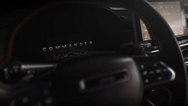 Jeep Commander: novo SUV de 7 lugares brasileiro tem interior revelado com teaser
