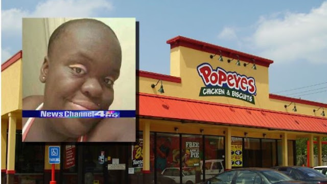 "Woman Outraged After Popeyes Receipt Calls Her ""That Thing with the Bald Head"""