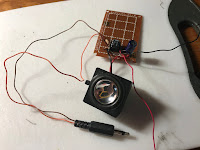Wiring in audio connection