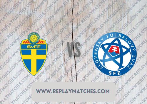 Sweden vs Slovakia -Highlights 18 June 2021