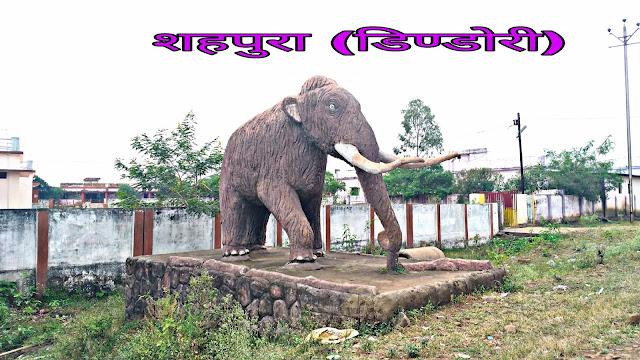shahpura tehsil block town district dindori