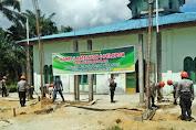 Brimob Kompi 2 Bataliyon C Pelopor Bhakti Sosial Di Desa Buluh