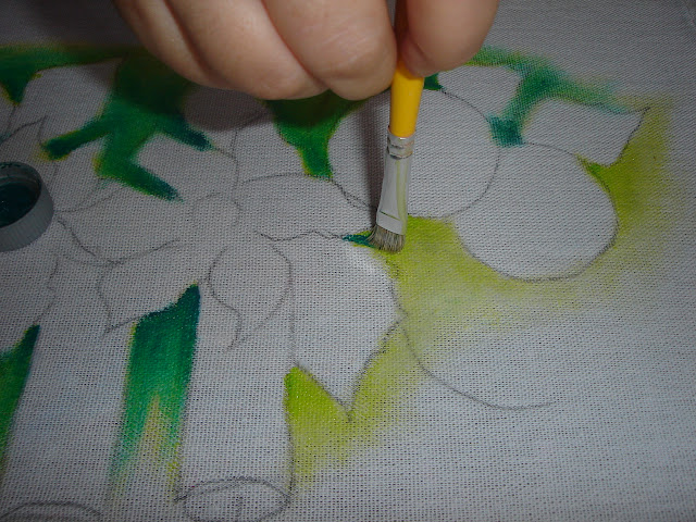 pintura em tecido natal passo a passo