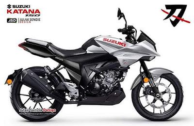 Rendering Suzuki Katana 150 ala Julak Sendie