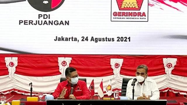 Gerindra Temui PDIP, Hasto: Salam Ibu Megawati Buat Pak Prabowo