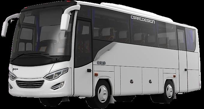 Jenis Bus Pariwisata Medium