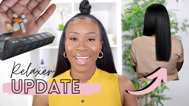Relaxer Update - Blunt Cut, Vitamins I'm Taking + New Shower Filter | www.HairliciousInc.com