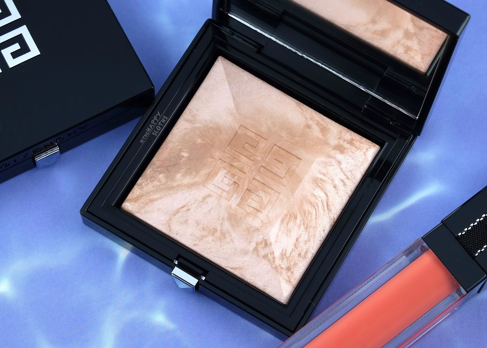 "Givenchy | Summer 2019 Solar Pulse Collection Healthy Glow Powder Marbled Edition in ""2.5 Naturel Rosé"": Review and Swatches"