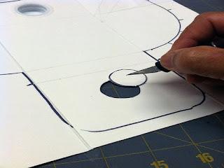 Membuat Gambar Lingkaran Kecil
