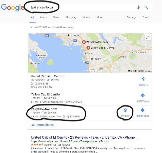 Búsqueda SEO TOP 3 Google