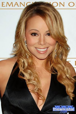 Mariah Carey, American singer and songwriter and producer.