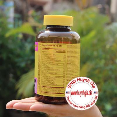 bổ sung vi chất cho bà bầu Nature Made Prenatal Multi + DHA của Mỹ www.huynhgia.biz Hàng Mỹ xách tay