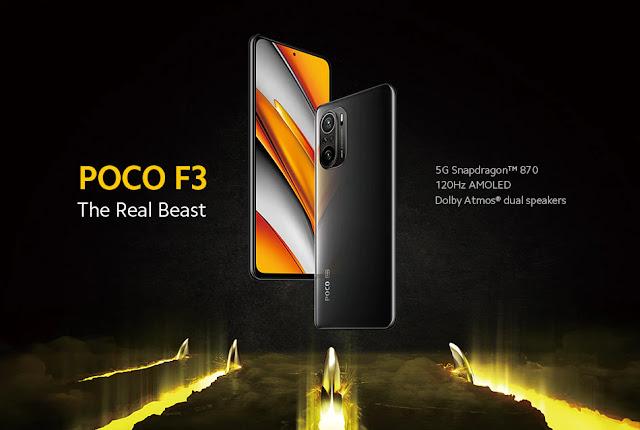 【POCO F3 5G】Snapdragon 870に水冷システム、5G対応に、120Hz駆動のAMOLEDディスプレイ。欲しい性能をすべて詰め込んだハイエンドスマホ、POCO F3 5Gが328ドルのセール開催!