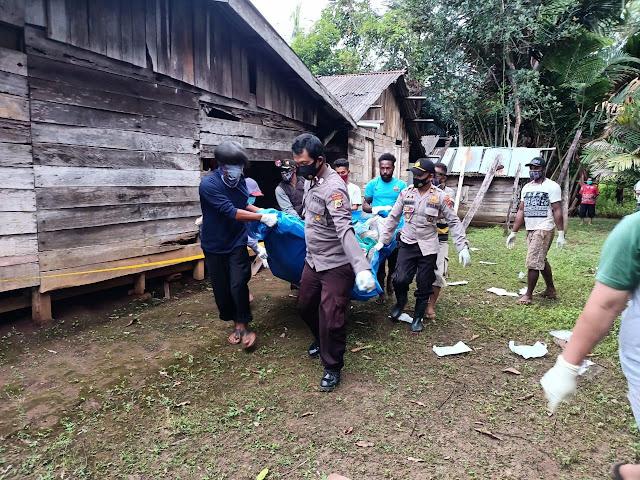 Polisi Tangani Kasus Temuan Mayat di Kampung Sigabel Jaya