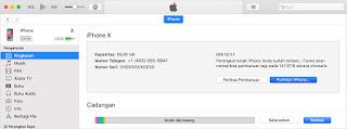 Cara Cek IMEI Dengan iTunes Untuk Iphone