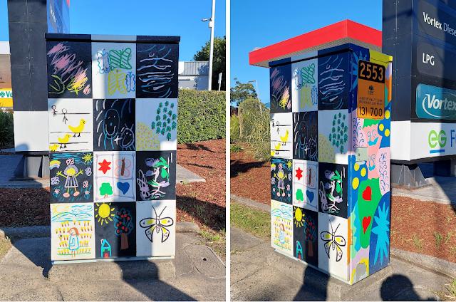 Punchbowl | Signal Box Art on Canterbury Rd