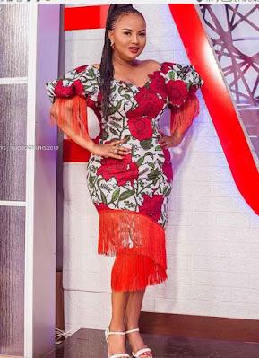Nana Aka Ankara short gown styles
