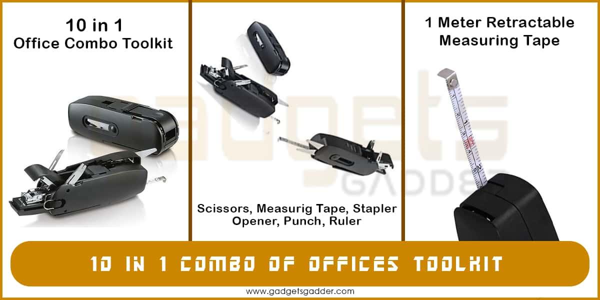 10 in 1 combo tool kit