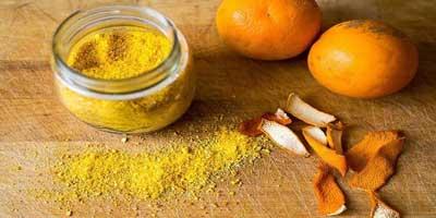 Orange Peel To Lighten Dark Underarms