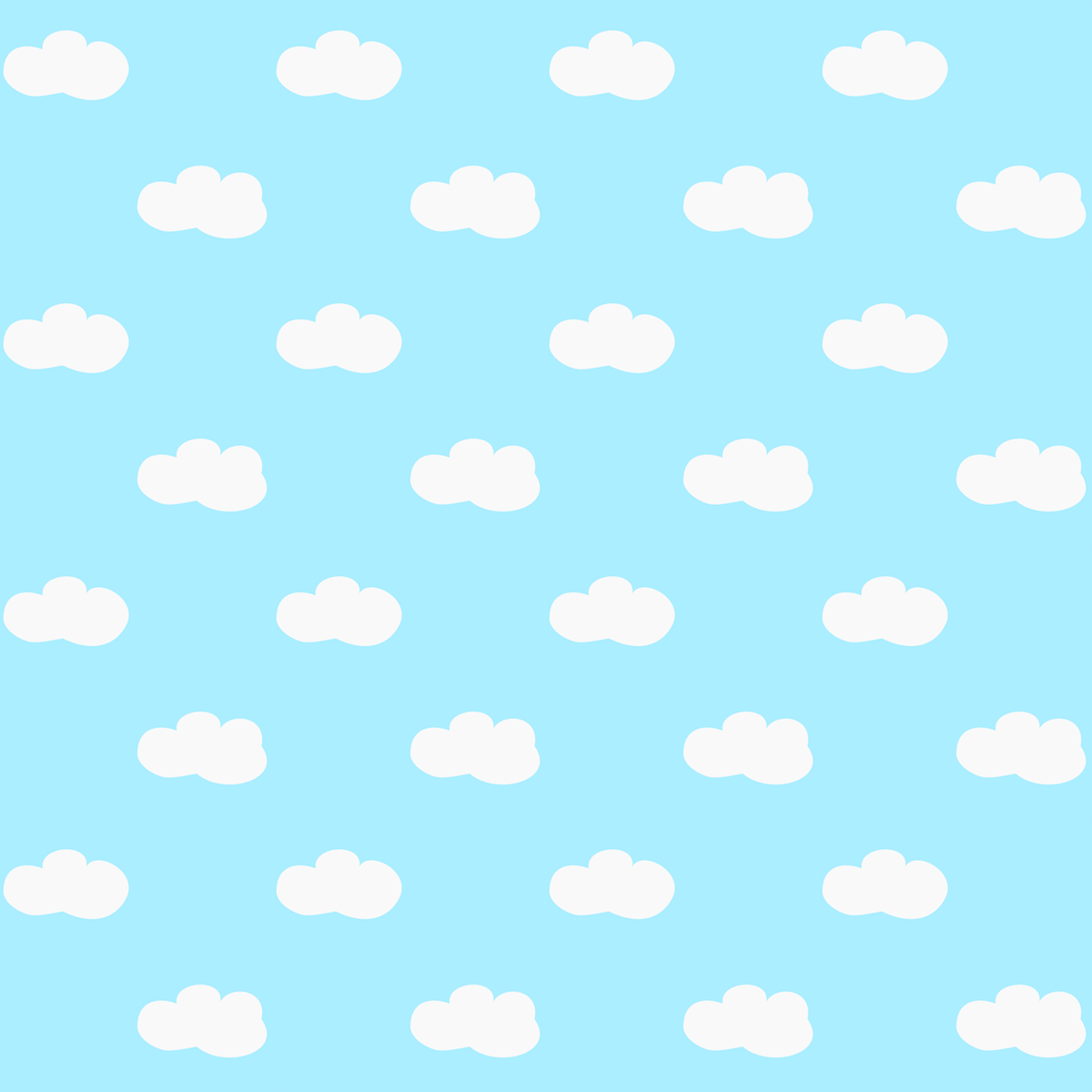 Free Digital Fluffy Clouds Scrapbooking Papers