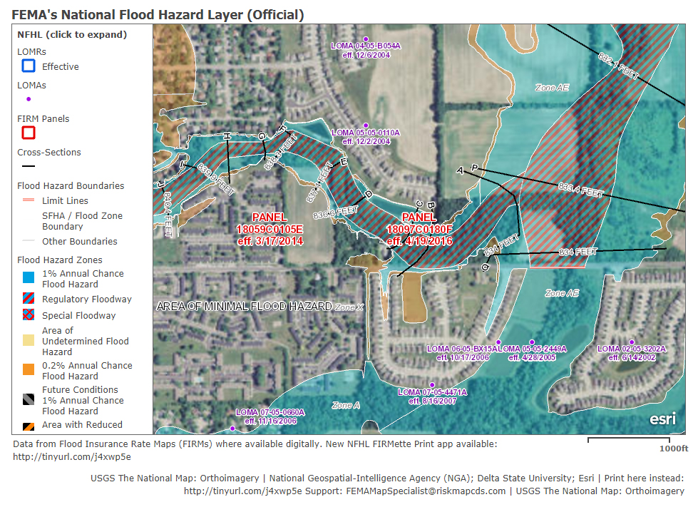 How To Determine If Your Project Is In A Flood Hazard Area - National flood map