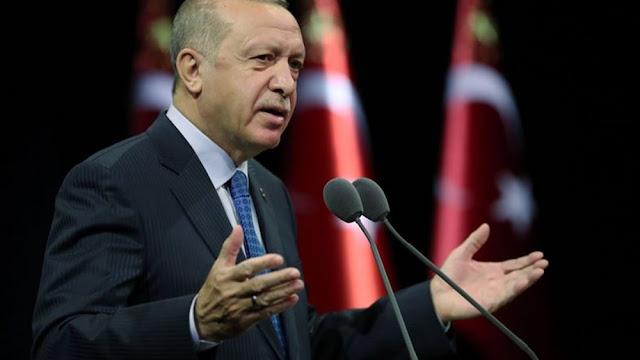 """Ερντογάν: Τρίτες χώρες χρησιμοποιούν την Ελλάδα ως """"δόλωμα"""""""