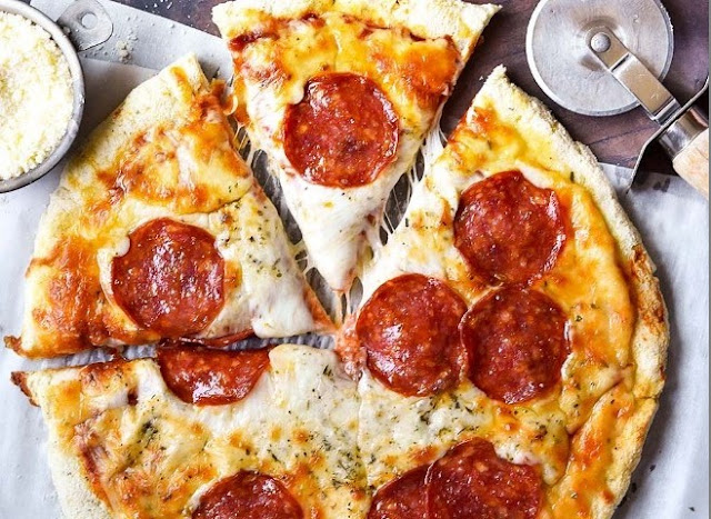 Coconut Flour Pizza Crust #healthy #glutenfree