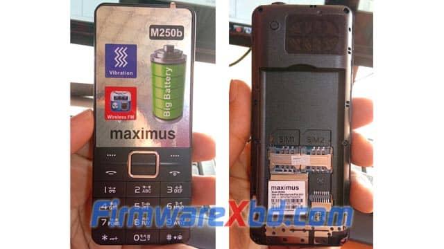 Maximus M250b 6531E Flash File Download