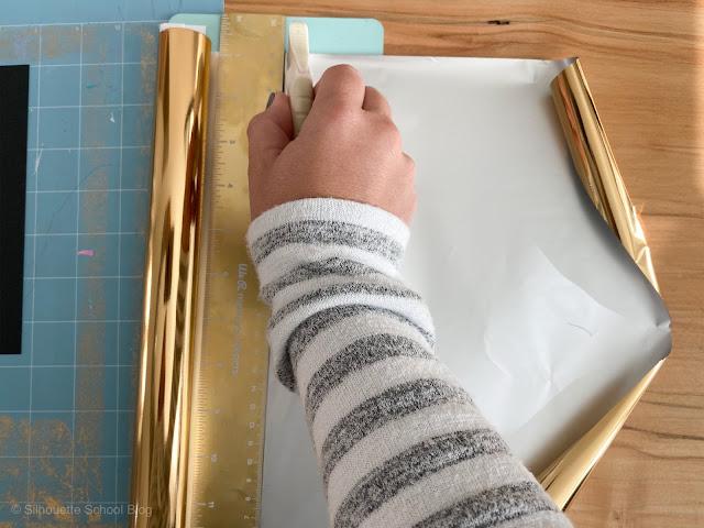foil quill, foil quill silhouette, light grip cutting mat, foil quill hack, foil quill tutorials