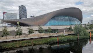 Centro acuático del Queen Elizabeth Olympic Park.