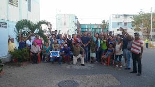 Juramentado equipo de voluntarios de los Bloques en San Fernando para ayuda humanitaria.
