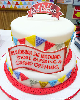 Red Ribbon Sm City Masinag Store Blessing and Grand Opening